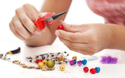 Jewellery making is cheaper than therapy…..